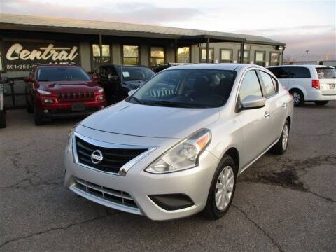 2017 Nissan Versa for sale at Central Auto in South Salt Lake UT
