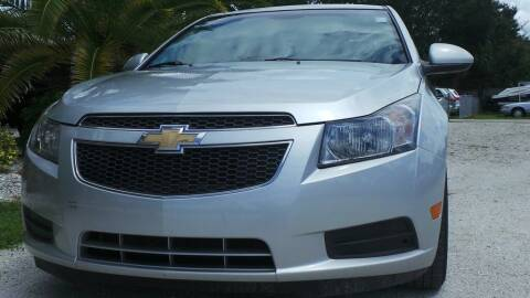 2012 Chevrolet Cruze for sale at Southwest Florida Auto in Fort Myers FL