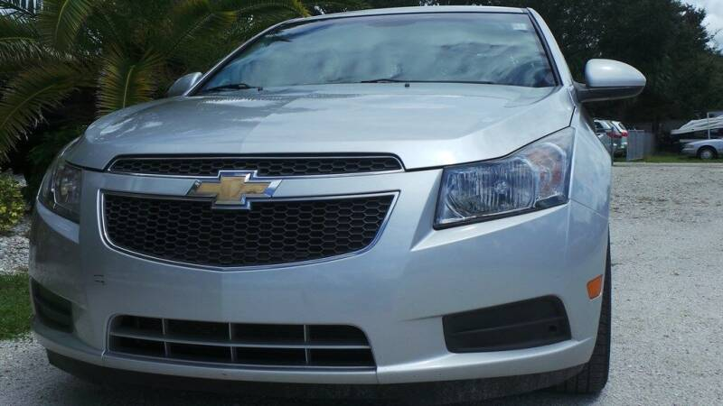 2012 Chevrolet Cruze LT 4dr Sedan w/1LT - Fort Myers FL
