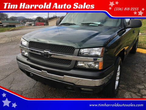 2003 Chevrolet Silverado 1500 for sale at Tim Harrold Auto Sales in Wilkesboro NC