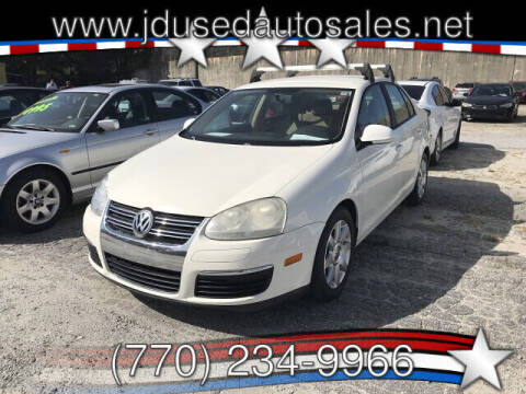2008 Volkswagen Jetta for sale at J D USED AUTO SALES INC in Doraville GA