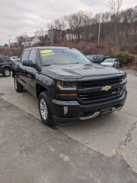 2018 Chevrolet Silverado 1500 for sale at WEB NIK Motors in Fitchburg MA