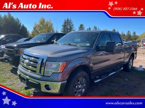 2009 Ford F-150 for sale at Al's Auto Inc. in Bruce Crossing MI