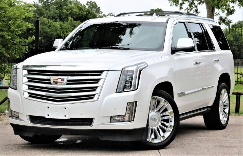 2017 Cadillac Escalade for sale at Texas Auto Corporation in Houston TX