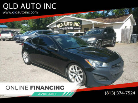 2013 Hyundai Genesis Coupe for sale at QLD AUTO INC in Tampa FL
