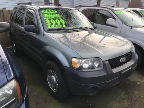2006 Ford Escape for sale at American Dream Motors in Everett WA