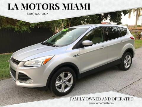 2013 Ford Escape for sale at LA Motors Miami in Miami FL
