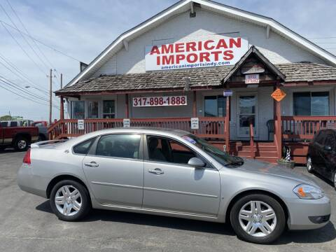 2008 Chevrolet Impala for sale at American Imports INC in Indianapolis IN