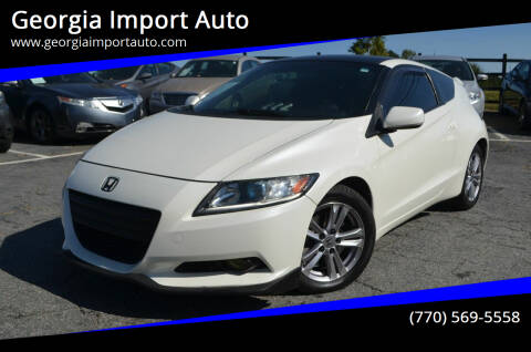 2012 Honda CR-Z for sale at Georgia Import Auto in Alpharetta GA