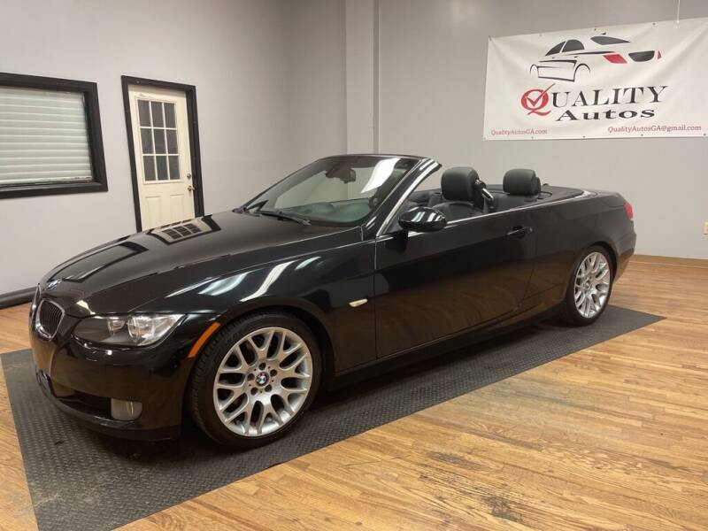 2008 BMW 3 Series for sale at Quality Autos in Marietta GA