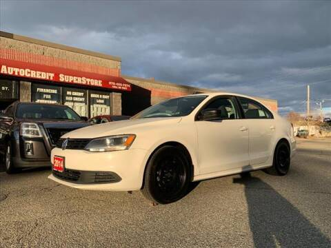 2014 Volkswagen Jetta for sale at AutoCredit SuperStore in Lowell MA