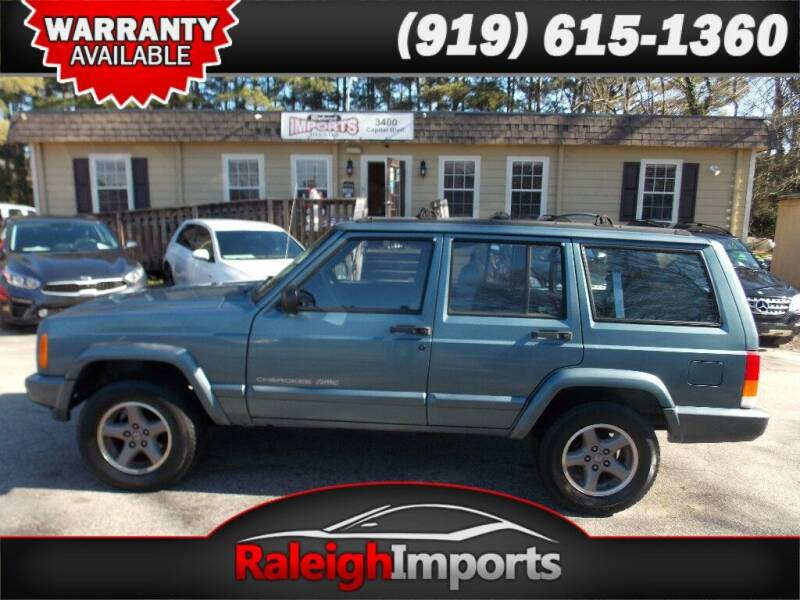 1998 Jeep Cherokee for sale at Raleigh Imports in Raleigh NC