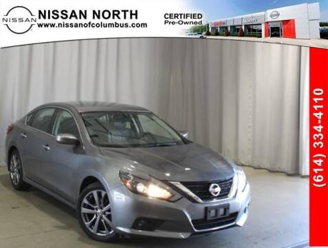 2018 Nissan Altima for sale at Auto Center of Columbus in Columbus OH