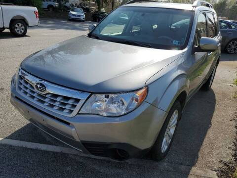 2011 Subaru Forester for sale at THE TRAIN AUTO SALES & LEASING in Mauldin SC