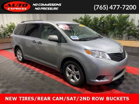 2016 Toyota Sienna for sale at Auto Express in Lafayette IN