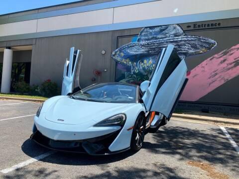 2018 McLaren 570S Spider for sale at EA Motorgroup in Austin TX