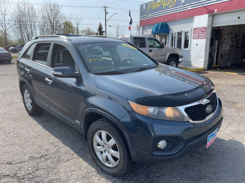 2011 Kia Sorento for sale at Peter Kay Auto Sales in Alden NY