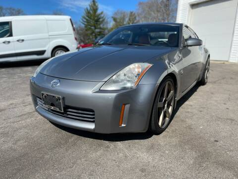 2003 Nissan 350Z for sale at SOUTH SHORE AUTO GALLERY, INC. in Abington MA