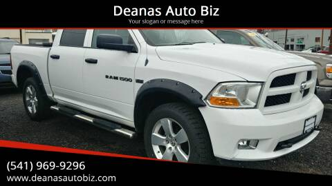 2012 RAM Ram Pickup 1500 for sale at Deanas Auto Biz in Pendleton OR