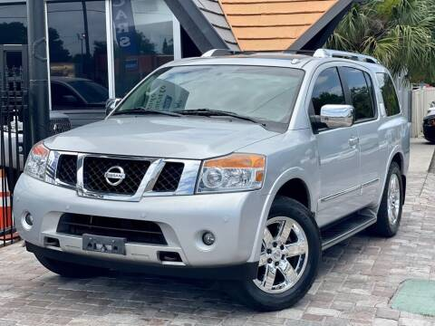 2010 Nissan Armada for sale at Unique Motors of Tampa in Tampa FL