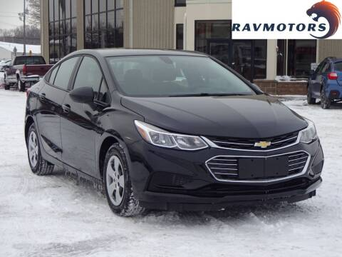 2018 Chevrolet Cruze for sale at RAVMOTORS 2 in Crystal MN