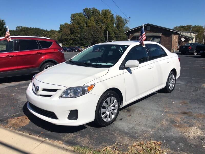2012 Toyota Corolla for sale at Mikes Auto Sales INC in Forest City NC