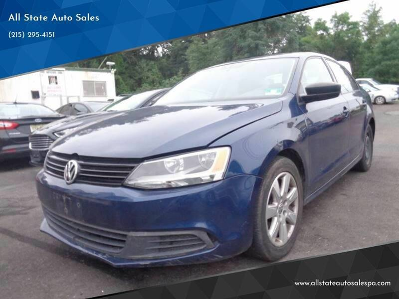 2012 Volkswagen Jetta for sale at All State Auto Sales in Morrisville PA