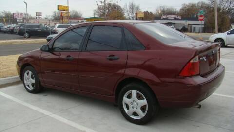 2006 Ford Focus for sale at Red Rock Auto LLC in Oklahoma City OK