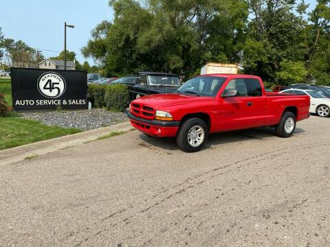 2001 Dodge Dakota for sale at Station 45 Auto Sales Inc in Allendale MI