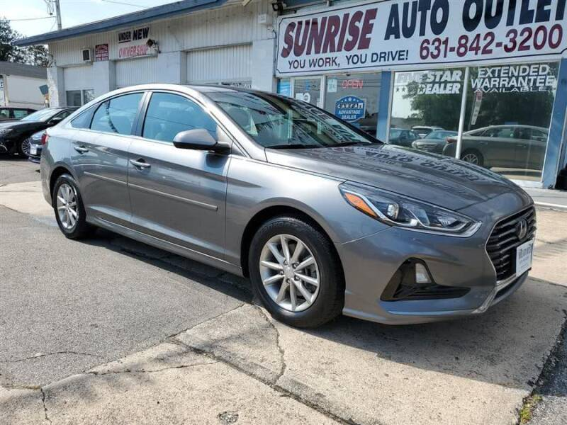 2018 Hyundai Sonata for sale at Sunrise Auto Outlet in Amityville NY