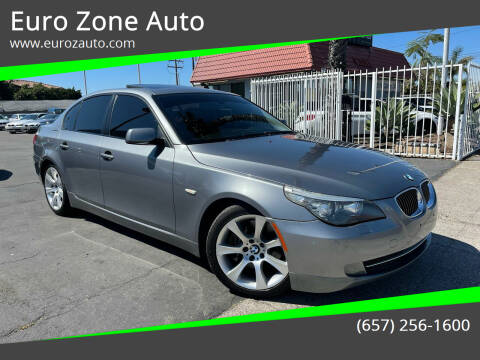 2010 BMW 5 Series for sale at Euro Zone Auto in Stanton CA