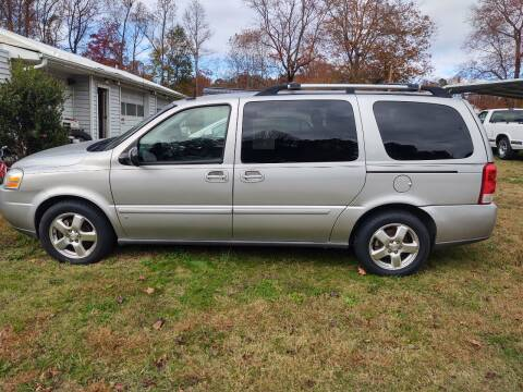 2008 Chevrolet Uplander for sale at Lanier Motor Company in Lexington NC