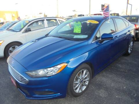 2017 Ford Fusion for sale at Century Auto Sales LLC in Appleton WI