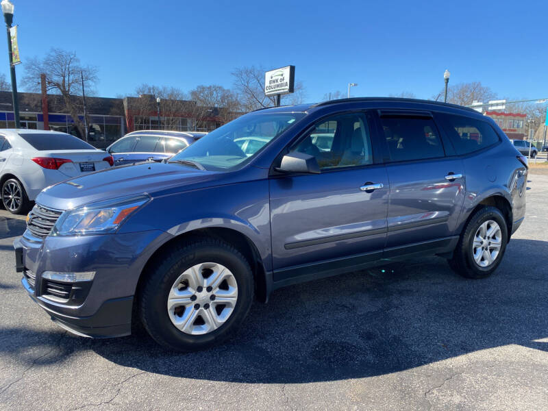 2014 Chevrolet Traverse for sale at BWK of Columbia in Columbia SC