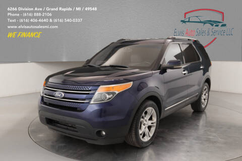 2011 Ford Explorer for sale at Elvis Auto Sales LLC in Grand Rapids MI