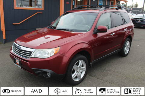 2010 Subaru Forester for sale at Sabeti Motors in Tacoma WA