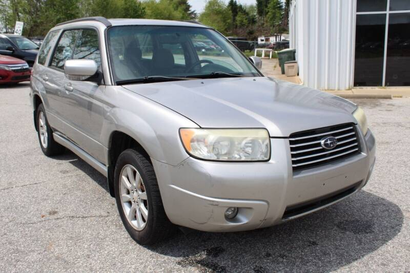 2007 Subaru Forester for sale at UpCountry Motors in Taylors SC