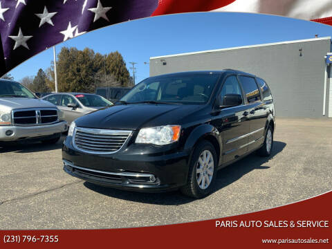 2015 Chrysler Town and Country for sale at Paris Auto Sales & Service in Big Rapids MI