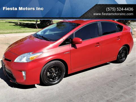 2015 Toyota Prius for sale at Fiesta Motors Inc in Las Cruces NM