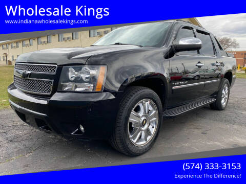 2010 Chevrolet Avalanche for sale at Wholesale Kings in Elkhart IN