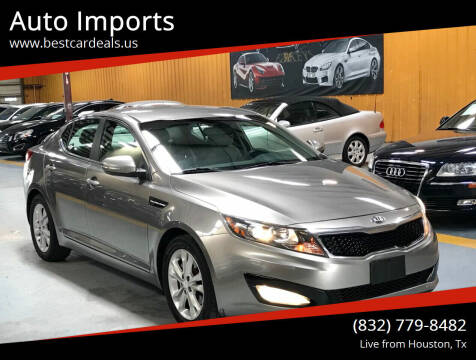 2013 Kia Optima for sale at Auto Imports in Houston TX