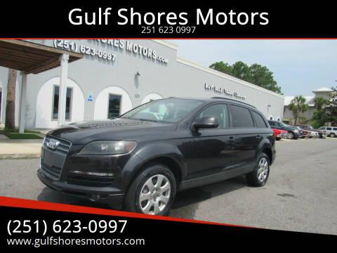 2007 Audi Q7 for sale at Gulf Shores Motors in Gulf Shores AL