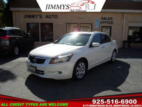 2009 Honda Accord for sale at JIMMY'S AUTO WHOLESALE in Brentwood CA