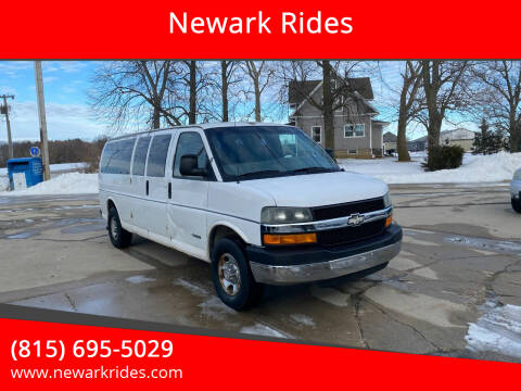 2005 Chevrolet Express Passenger for sale at Newark Rides in Newark IL