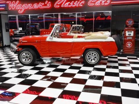 1968 Kaiser JEEPSTER for sale at Wagner's Classic Cars in Bonner Springs KS