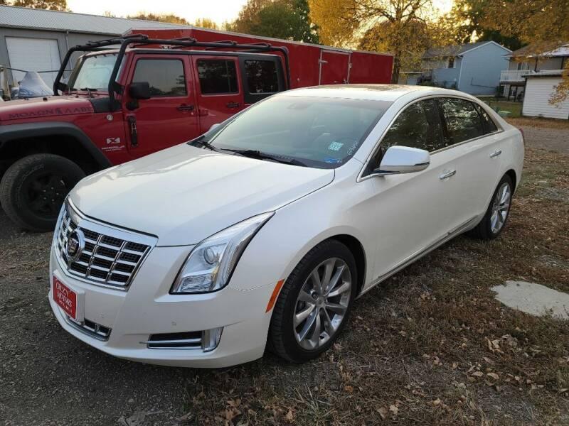 2013 Cadillac XTS for sale at CRUZ'N MOTORS in Spirit Lake IA
