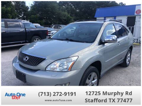 2007 Lexus RX 350 for sale at Auto One USA in Stafford TX