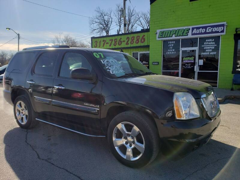 2007 GMC Yukon for sale at Empire Auto Group in Indianapolis IN