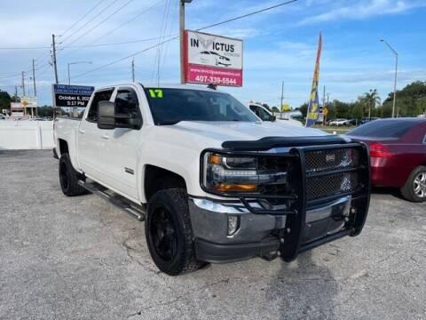 2017 Chevrolet Silverado 1500 for sale at Invictus Automotive in Longwood FL