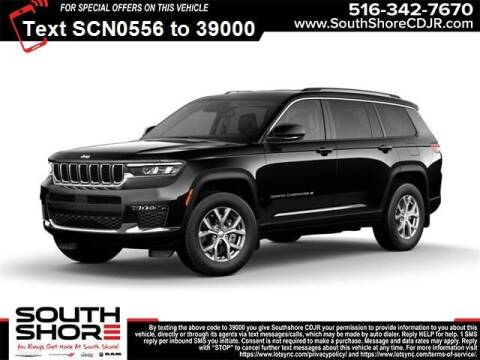 2021 Jeep Grand Cherokee L for sale at South Shore Chrysler Dodge Jeep Ram in Inwood NY